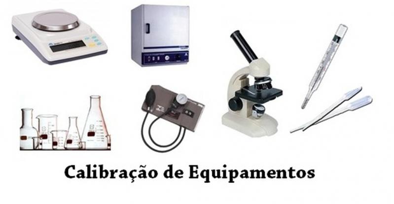 Profissional para Calibração de Equipamentos Medição Santana de Parnaíba - Calibração de Equipamentos de Medição