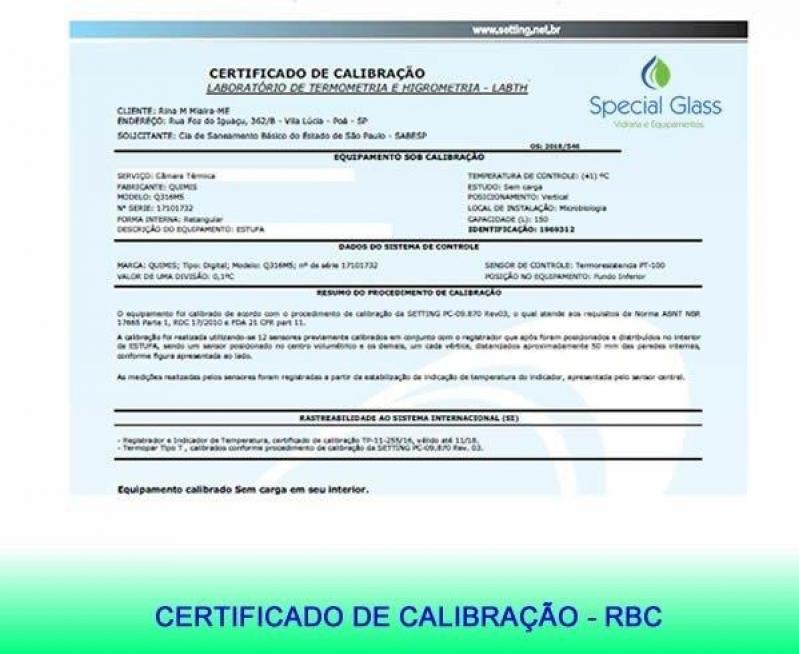 Profissional para Calibração de Equipamentos para Laboratório Formosa do Rio Preto - Calibração de Equipamentos para Medição