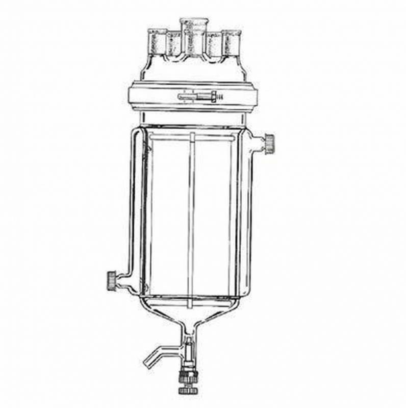 Reator de Vidro Encamisado Cotação Triângulo Mineiro - Reator Vidro Encamisado