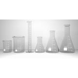 aparelhos de vidro para laboratório de análises clínicas