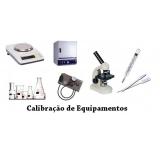 calibração de equipamentos medição