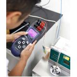 calibração de equipamentos para medição