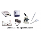 calibração de equipamentos de indústrias Barueri