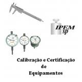 orçamento de calibração acreditada certificado rbc Guarulhos