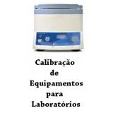 profissional para calibração de equipamentos de laboratório Santa Isabel